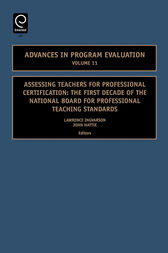 Assessing Teachers for Professional Certification by Lawrence Ingvarson