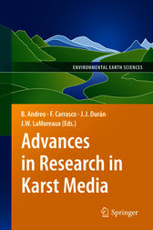 Advances in Research in Karst Media by Bartolome Andreo