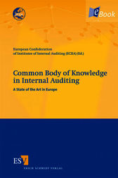 Common Body of Knowledge in Internal Auditing by European Confederation of Institutes of Internal Auditing (ECIIA);  Marco Allegrini;  Giuseppe D'Onza;  Robert Melville;  Leen Paape;  Gerrit Sarens