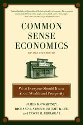 Common Sense Economics by James D. Gwartney
