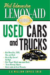 Lemon-Aid Used Cars and Trucks 2010-2011 by Phil Edmonston