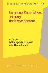 Language Description, History and Development by Jeff Siegel