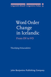 Word Order Change in Icelandic