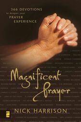 Magnificent Prayer by Nick Harrison