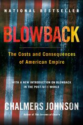 Blowback by Chalmers Johnson