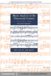 Music Analysis in the Nineteenth Century: Volume 2, Hermeneutic Approaches