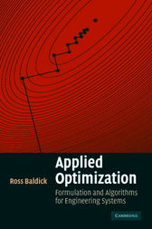 Applied Optimization by Ross Baldick