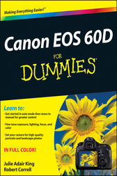 Canon EOS 60D For Dummies by King;  Robert Correll