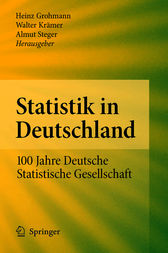 Statistik in Deutschland by Heinz Grohmann