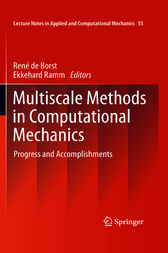 Multiscale Methods in Computational Mechanics by Rene Borst