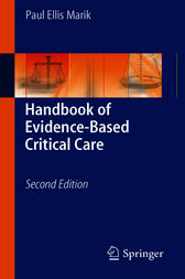Handbook of Evidence-Based Critical Care by Paul Ellis Marik