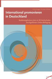 International promovieren in Deutschland by Ulrike Senger
