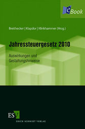 Jahressteuergesetz 2010