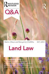 Q&A Land Law 2011-2012 by Martin Dixon