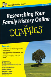 Researching Your Family History Online For Dummies by Nick Barratt
