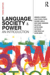 Language, Society and Power by Annabelle Mooney