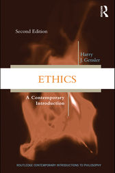 Ethics by Harry J Gensler