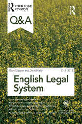 Q&A English Legal System 2011-2012 by Gary Slapper
