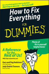 How to Fix Everything For Dummies by Gary Hedstrom