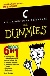 C All-in-One Desk Reference For Dummies by Dan Gookin