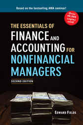 The Essentials of Finance and Accounting for Nonfinancial Managers by Edward FIELDS