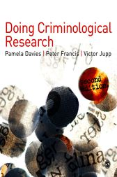 Doing Criminological Research by Pamela Davies