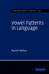 Vowel Patterns in Language by Rachel Walker