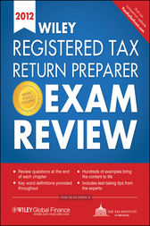 Wiley Registered Tax Return Preparer Exam Review 2012 by The Tax Institute at H&R Block