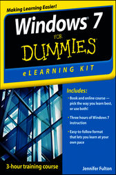 Windows 7 eLearning Kit For Dummies by Jennifer Fulton