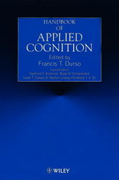 Handbook of Applied Cognition by Francis T. Durso