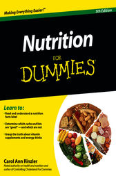Nutrition For Dummies by Carol Ann Rinzler