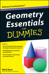 Geometry Essentials For Dummies by Mark Ryan