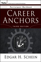 Career Anchors by Edgar H. Schein