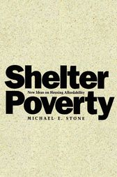 Shelter Poverty by Michael Stone