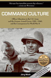 Command Culture by Jorg Muth