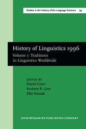 History of Linguistics 1996 by David Cram