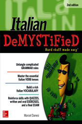 Italian DeMYSTiFieD, Second Edition by Marcel Danesi