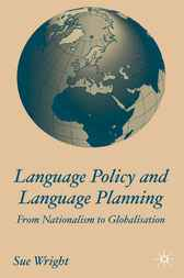 Language Policy and Language Planning