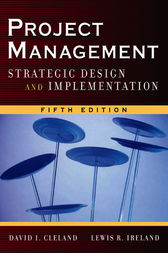 Project Management by David Cleland