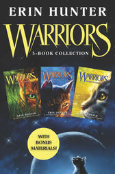 Warriors 3-Book Collection with Bonus Material by Erin Hunter