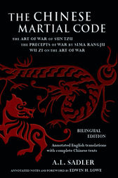 Chinese Martial Code by A.L. Sadler