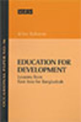 Education for Development by Atiur Rahman