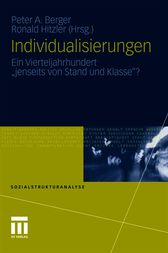 Individualisierungen by Peter A. Berger