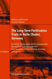 The Long-Term Fertilization Trials in Halle (Saale), Germany