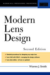 Modern Lens Design 2/E (EBOOK)
