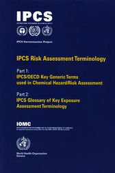 IPCS Risk Assessment Terminology