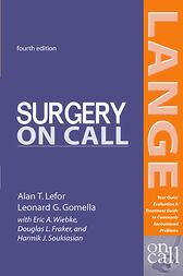 Surgery On Call, Fourth Edition by Alan Lefor