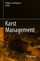 Karst Management by Philip E. Beynen