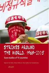 Strikes around the world by Sjaak van der Velden