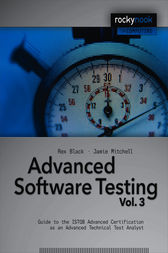 Advanced Software Testing - Vol. 3 by Rex Black